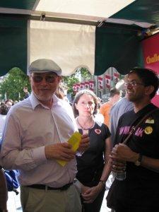 me at pride stall 2009