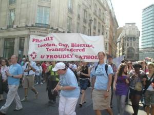Proudly Gay, Proudly Catholic: London Pride, 2009
