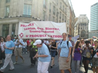 Proudly Gay, Proudly Catholic: London Pride, 2009