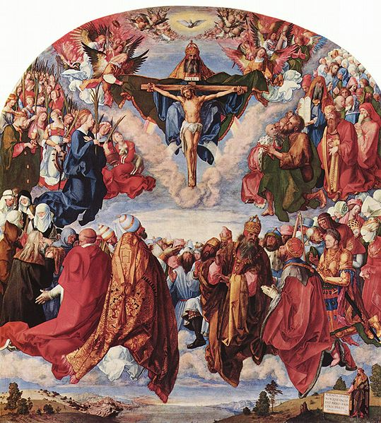 Transvestite saints and apostles