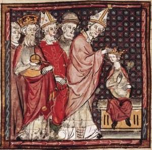 Holy Roman Emperor Louis the Pious.