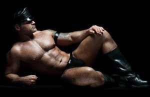 Leather Muscle for Hallowe'en
