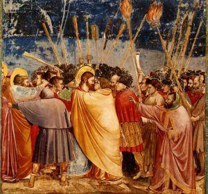 Judas Kiss (Giotto fresco, Padua)