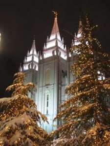 LDS temple, salt Lake City