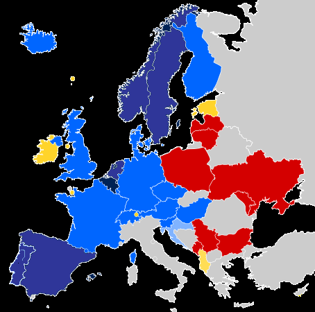 same sex marriage map europe detailed map in Weipa